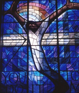 Stained Glass Window in 16th Street Baptist Church.