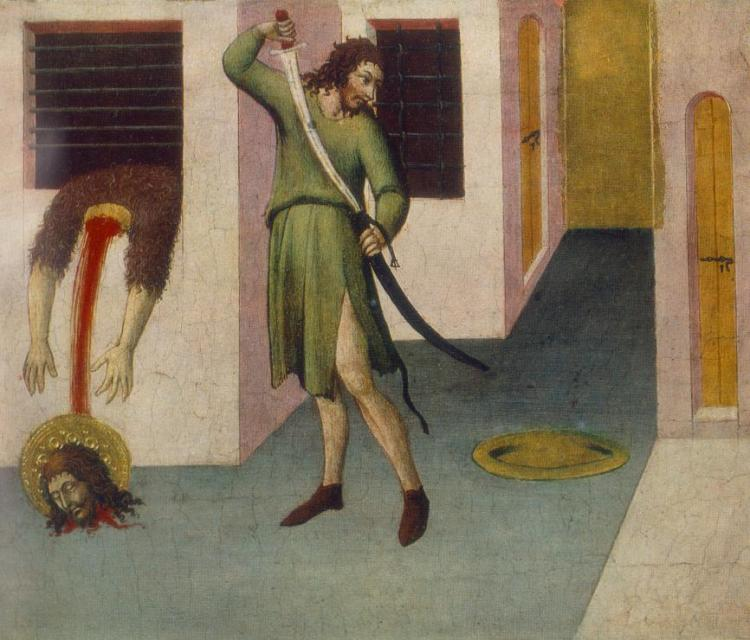 Beheading of St John the Baptist by Sano di Pietro