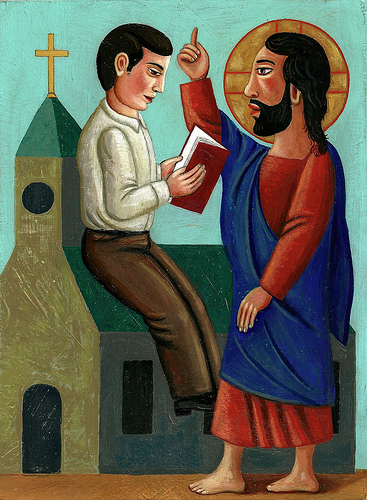 Catechism Painting by Rick & Brenda Beerhorst (C.C.)